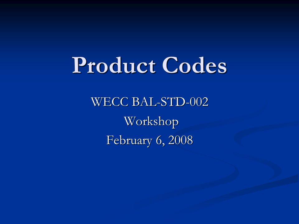 WECC BAL-STD-002 Workshop February 6, 2008