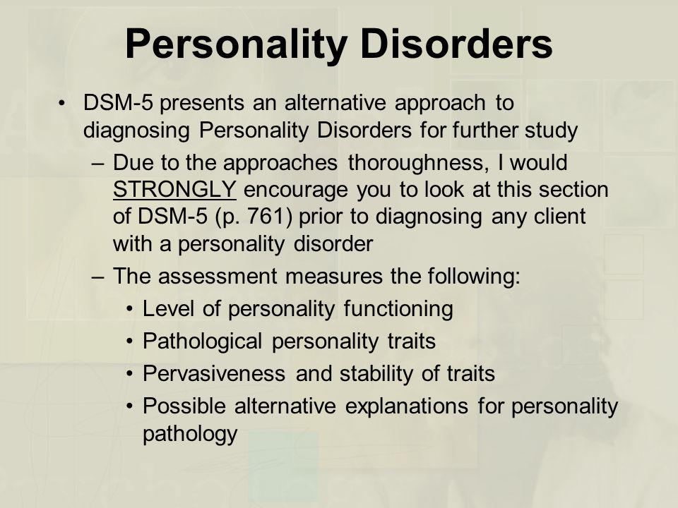 how to know if you have any disorders