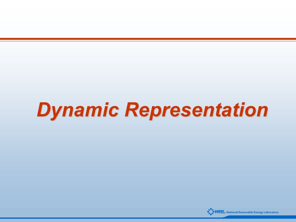 Dynamic Representation