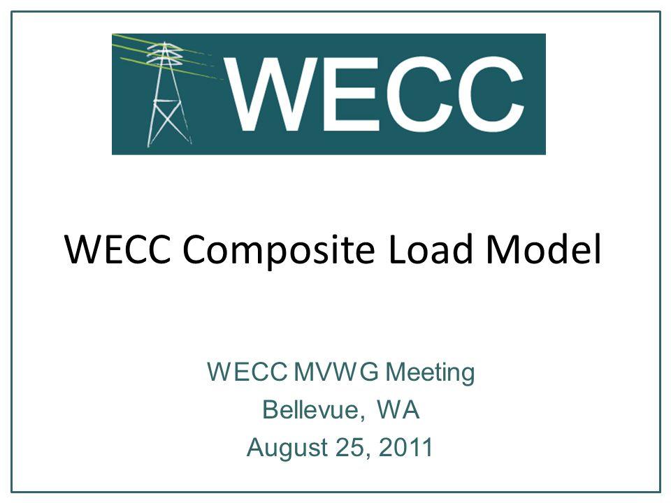 WECC Composite Load Model