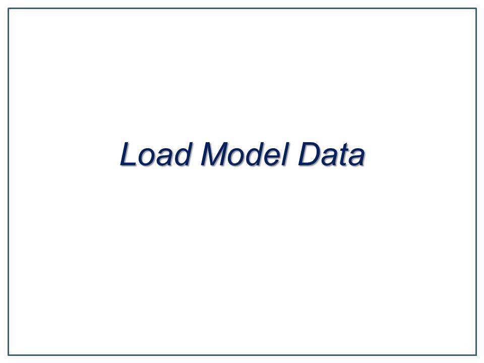 Load Model Data