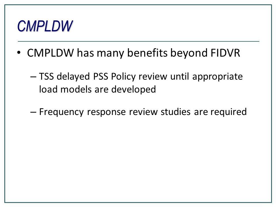 CMPLDW CMPLDW has many benefits beyond FIDVR