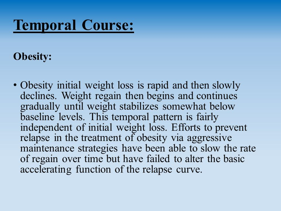 obesity coursework Each module within the advanced obesity management program has been individually accredited the program is expected to take participants approximately 16 to 20 hours to complete content experts who present at preparatory and/or review course(s.