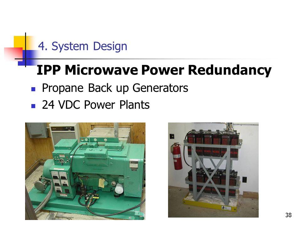IPP Microwave Power Redundancy