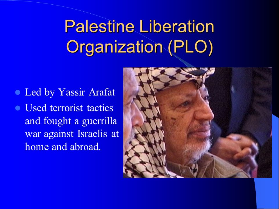 an analysis of the past failures of the palestinian liberation organization The arab-israeli wars, 1967–1973 by ehud  israel and the palestine liberation organization  as it became the launching ground for the palestinian armed.