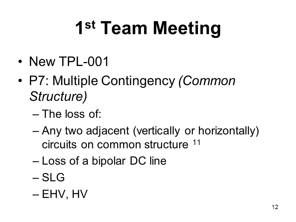1st Team Meeting New TPL-001