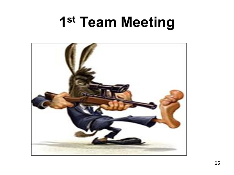 1st Team Meeting