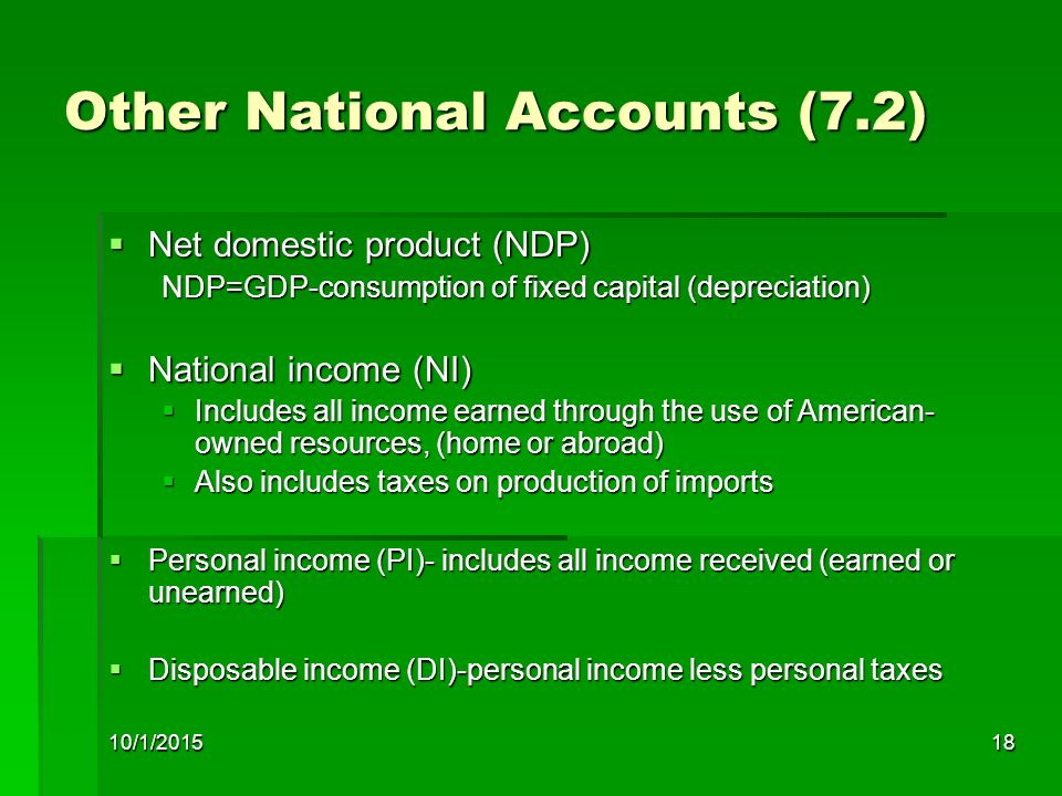 Other National Accounts (7.2)