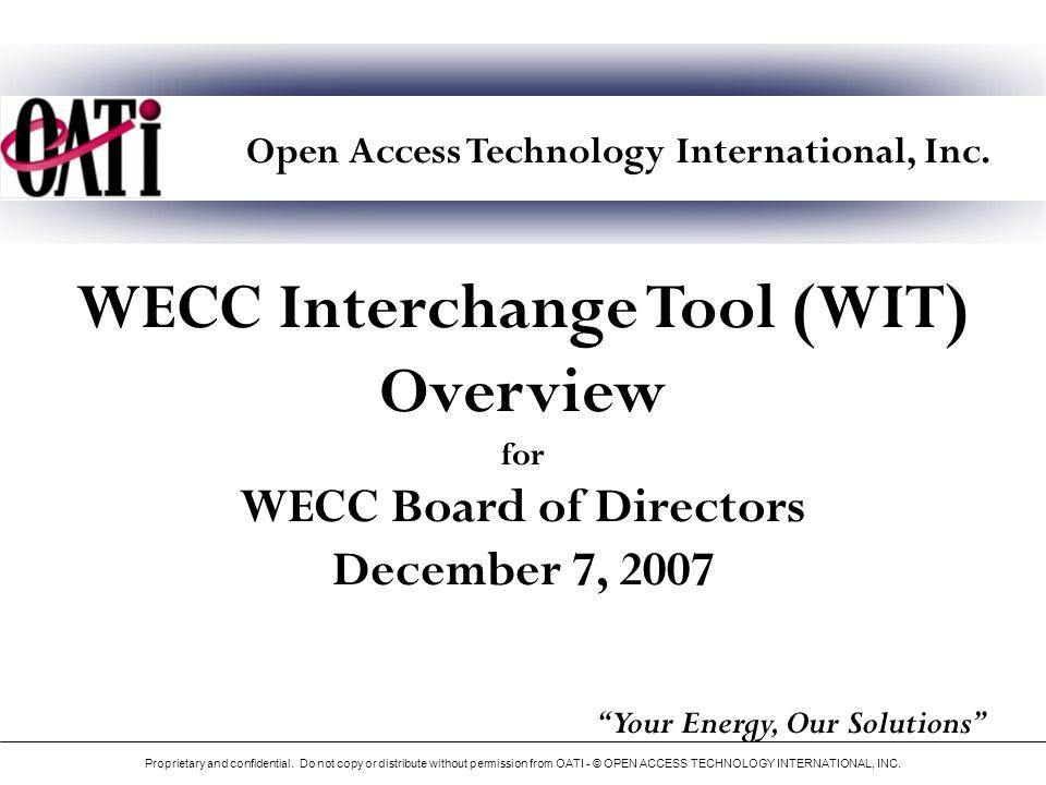 Open Access Technology International, Inc.
