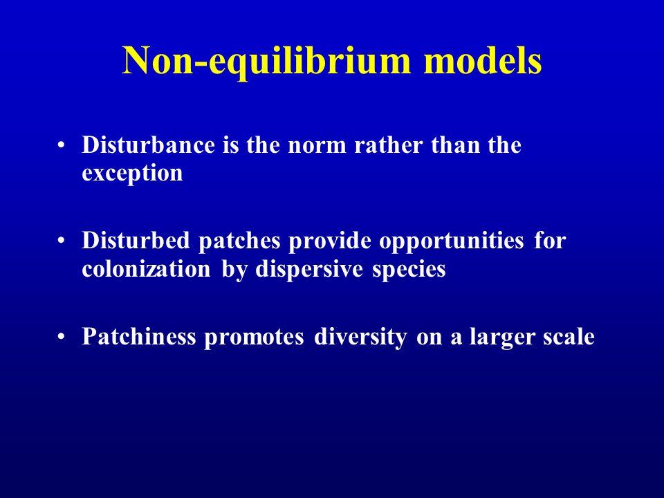 Non-equilibrium models