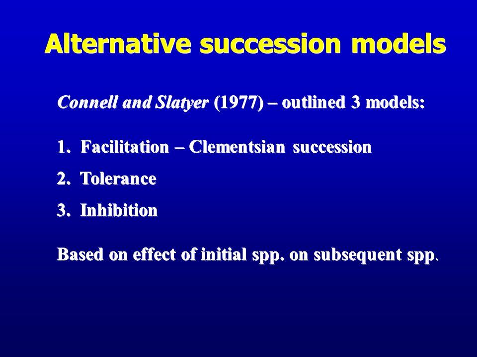 Alternative succession models
