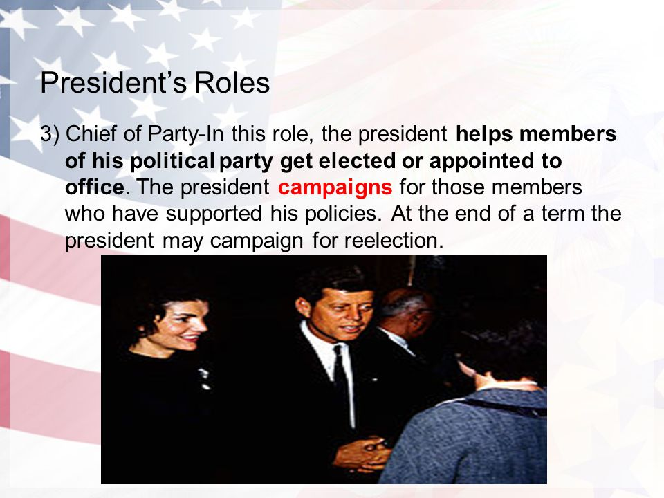 the roles of architecture in the american presidency Established in article ii, section 2 of the constitution, the cabinet's role is to advise the president on any subject he may require relating to the duties of each member's respective office .