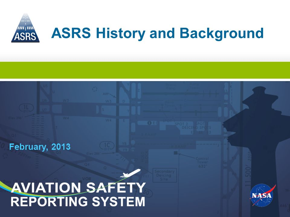 ASRS History and Background