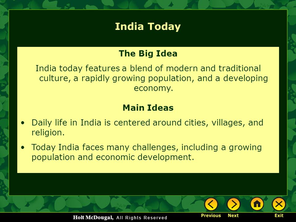 India Today The Big Idea