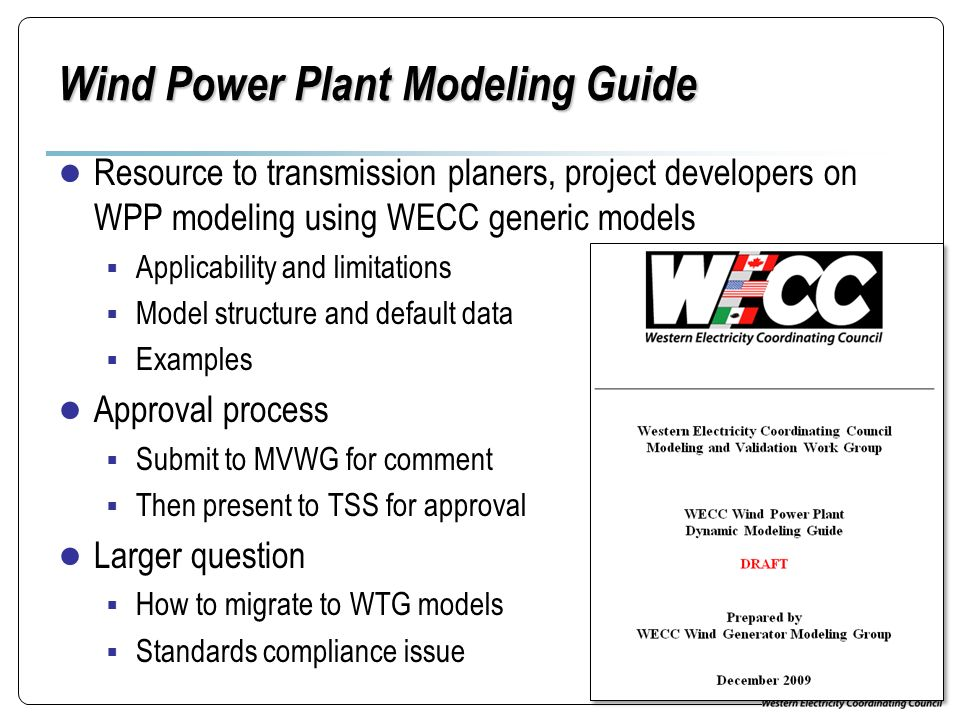 Wind Power Plant Modeling Guide