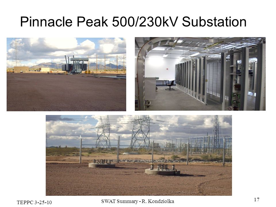 Pinnacle Peak 500/230kV Substation