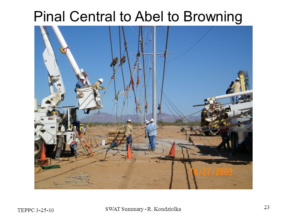 Pinal Central to Abel to Browning 500/230kV Transmission Line