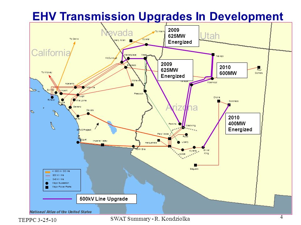 EHV Transmission Upgrades In Development