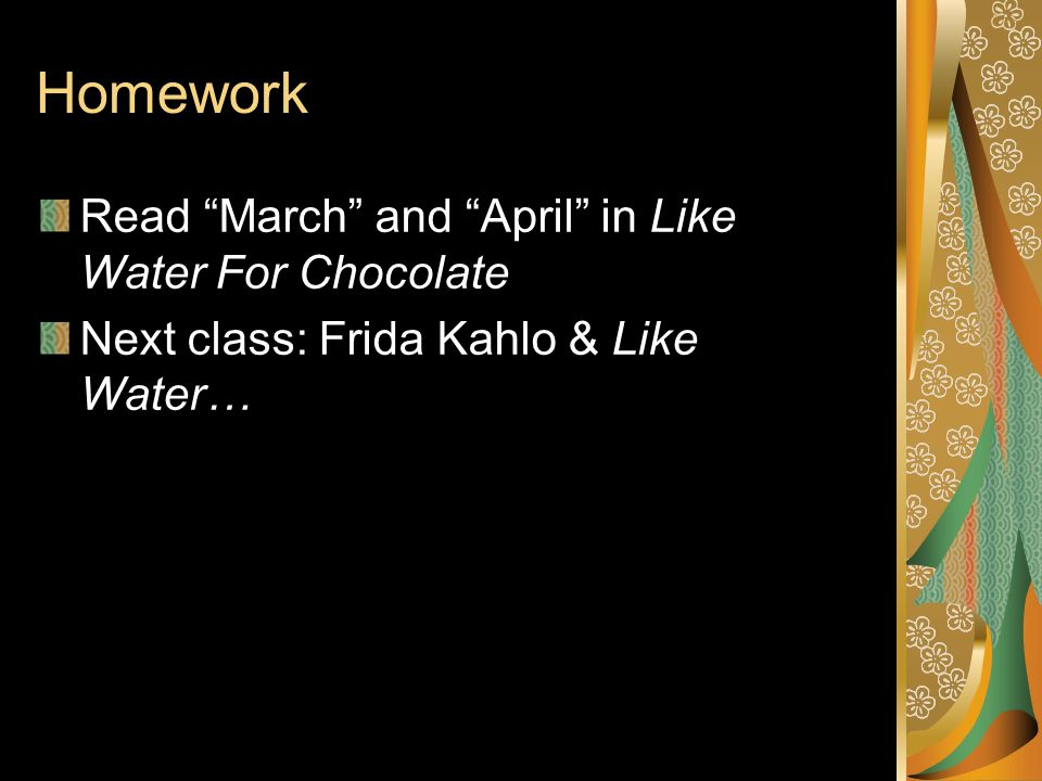 like water for chocolate read online