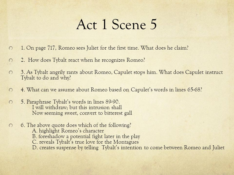 Romeo And Juliet Quotes Act 1 Quiz Best Quote 2018
