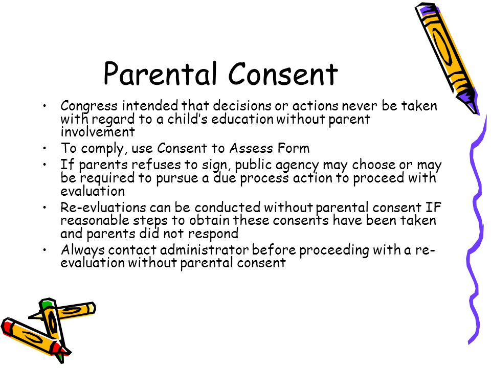 parental consent form for sex education