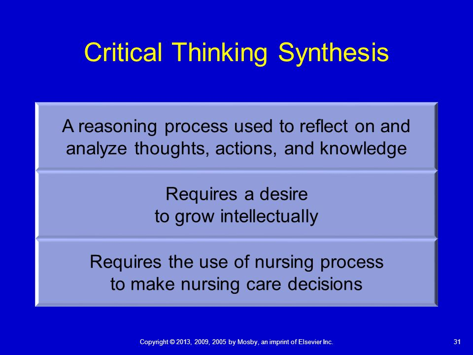 critical thinking steps nursing  integrative literature review a research  method to incorporate evidence in health care and nursing