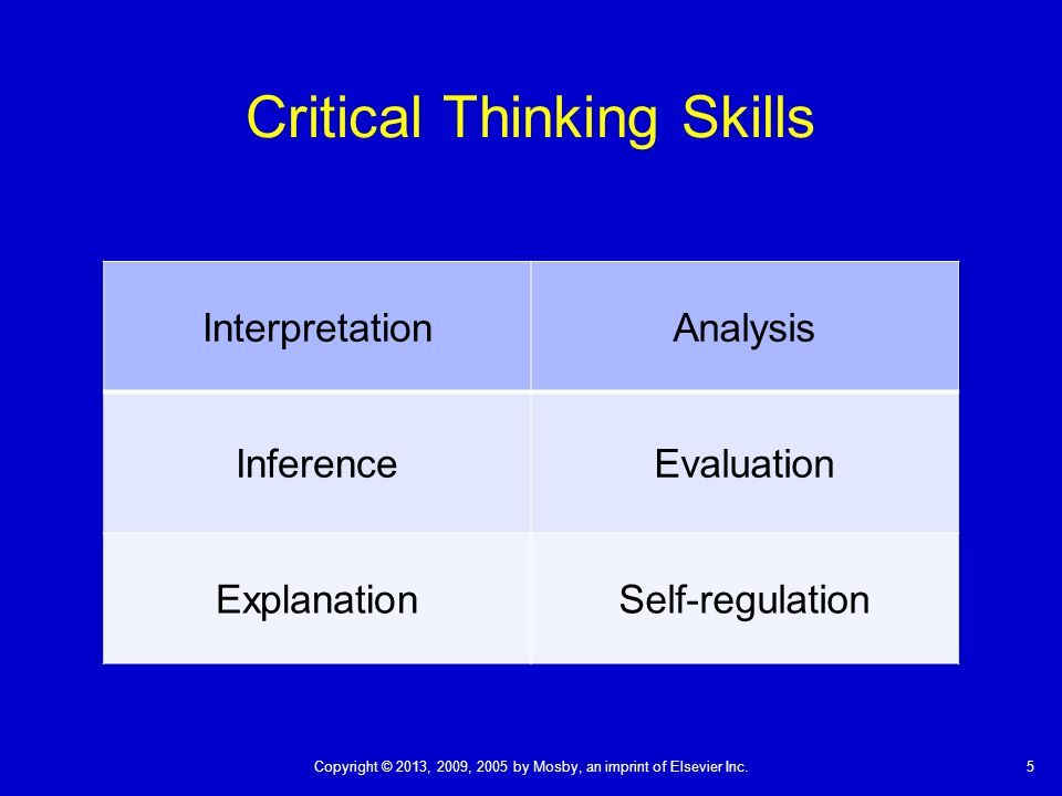 practice critical thinking skills Critical thinking skills was described including the ability to conceptualize think rationally, creatively, and autonomously and to be inquiring9 dreyfus or benner may better describe.