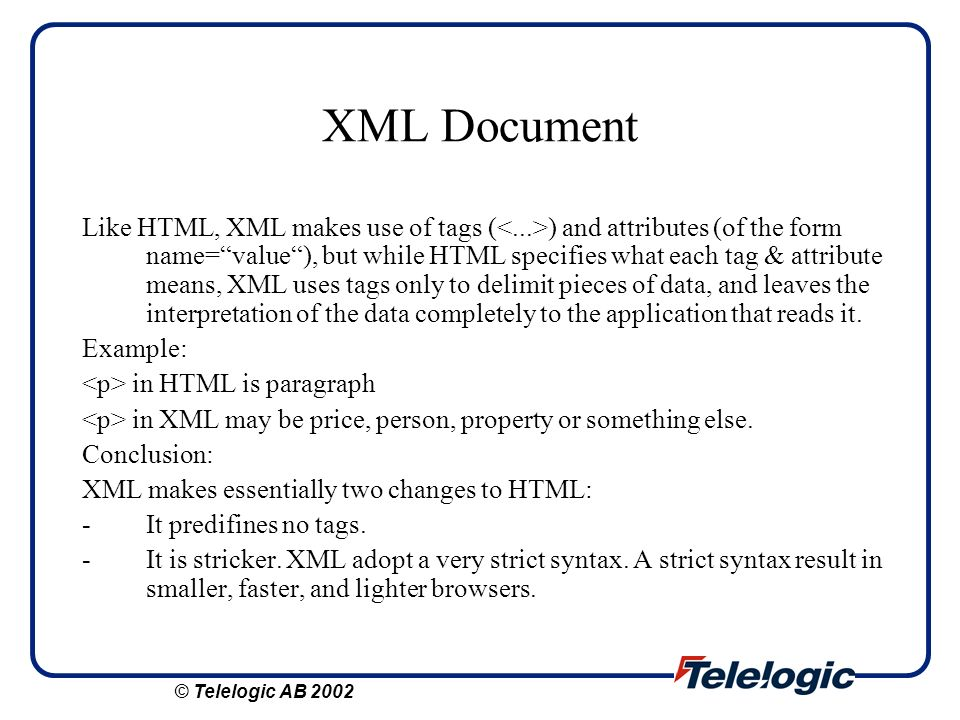 XML Document