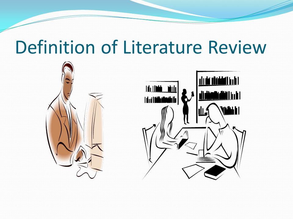 Writing up the Literature Review