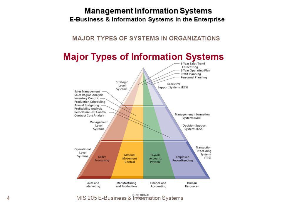 enterprise management system in mis pdf