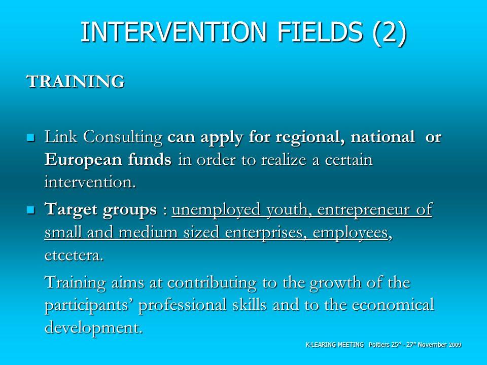 INTERVENTION FIELDS (2)