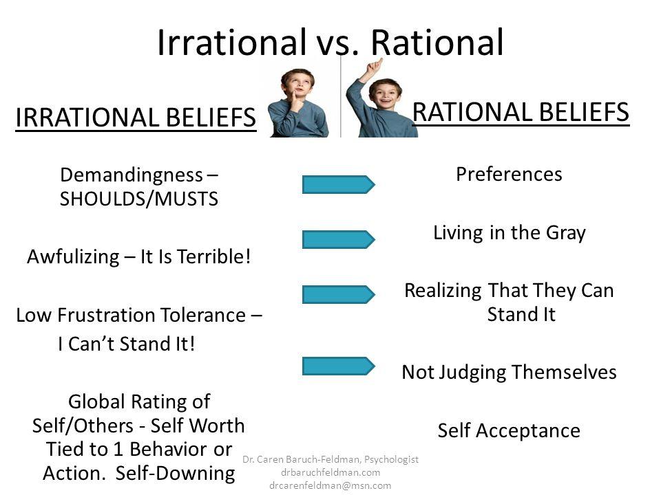 Irrational vs. Rational