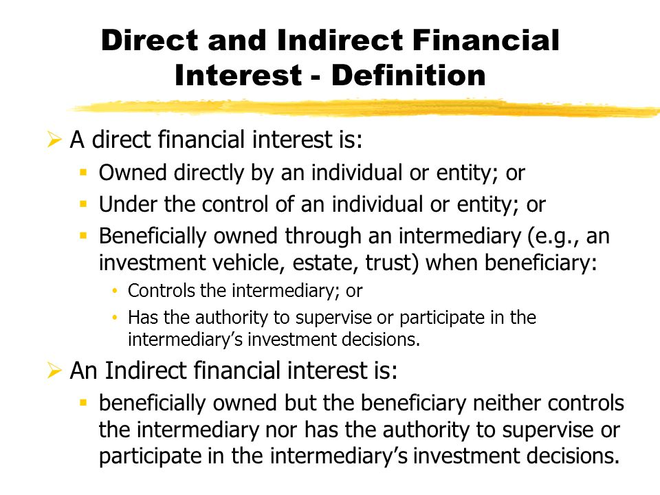 direct and indirect investment pdf