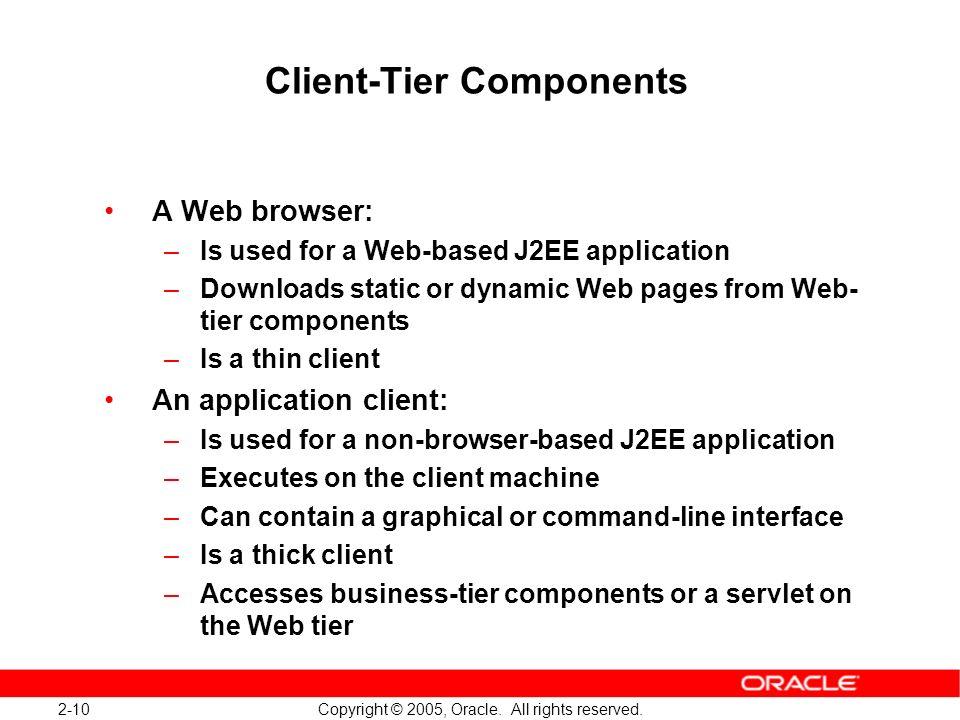 Client-Tier Components