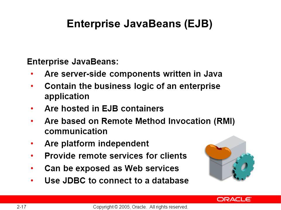 Enterprise JavaBeans (EJB)