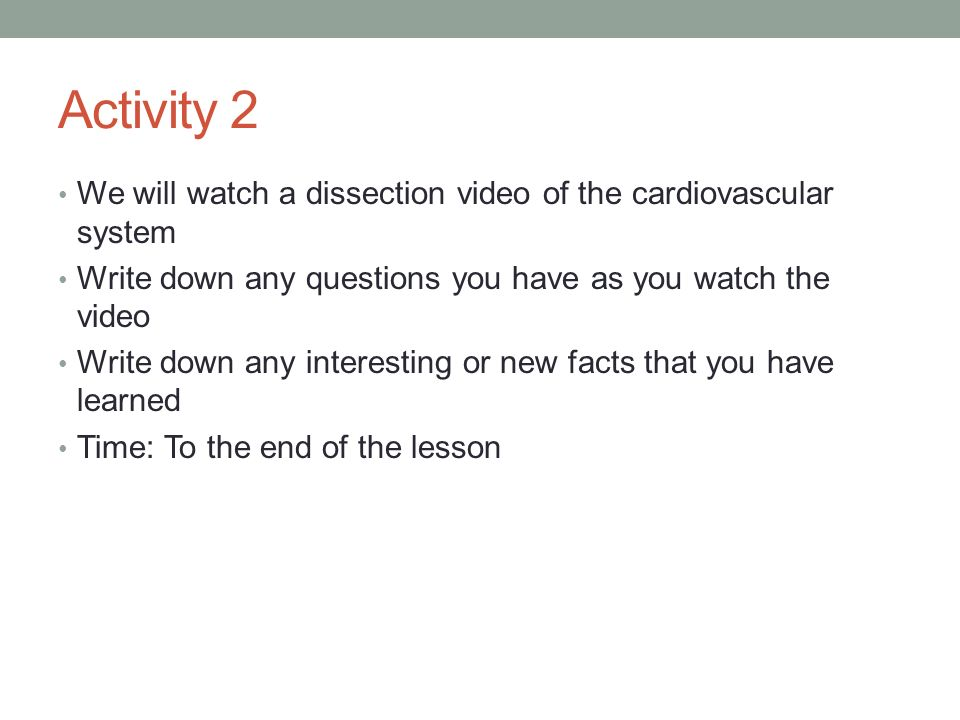 Unit 6 The Cardiovascular System Ppt Download