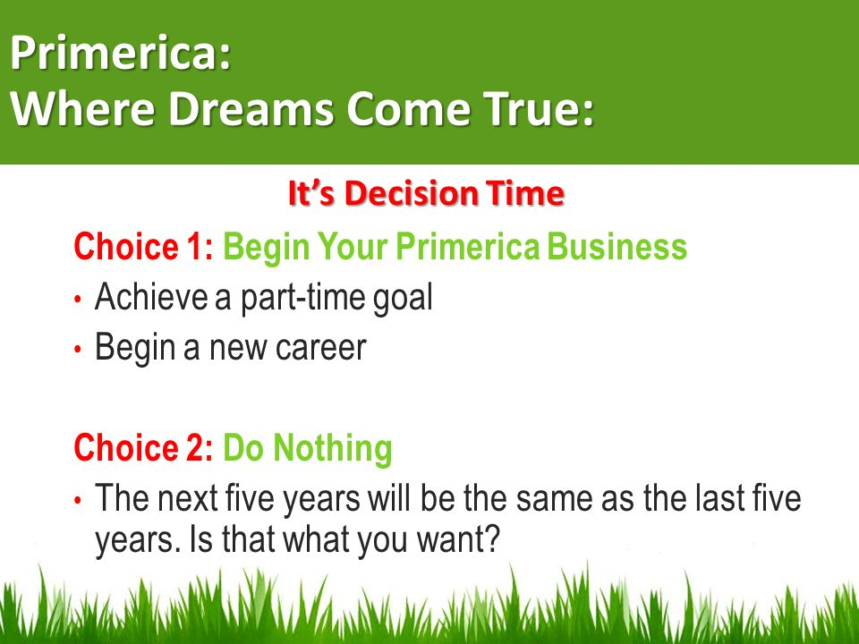 Primerica: Where Dreams Come True:
