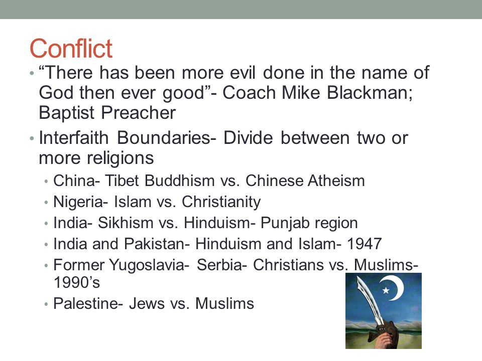 Muslim-Christian Relations: Historical and Contemporary Realities