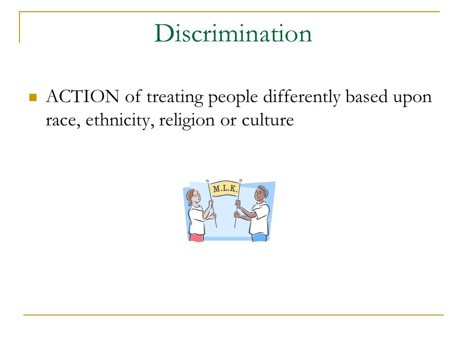 Sex-Based Discrimination
