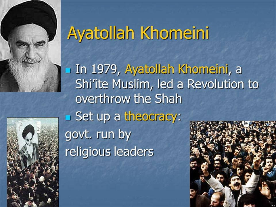 Image result for ayatollah khomeini
