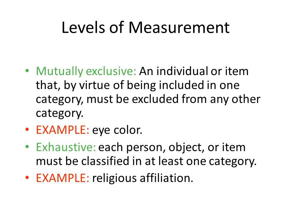 1-14 Levels of Measurement.