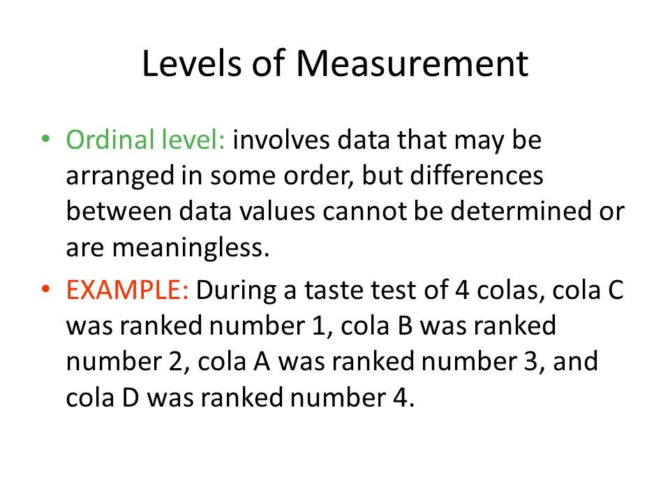 1-15 Levels of Measurement.