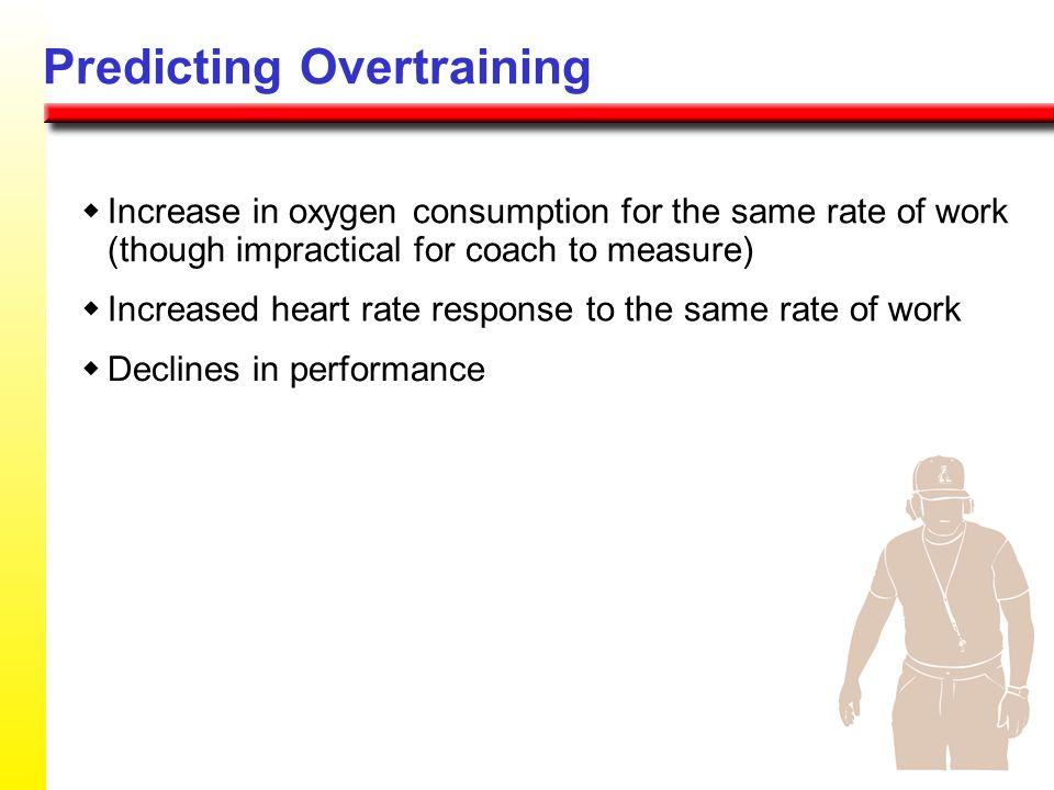 Predicting Overtraining