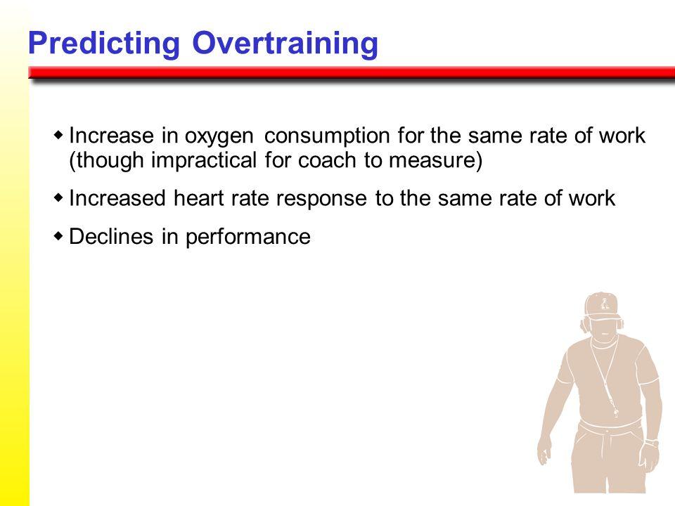 Predicting Overtraining
