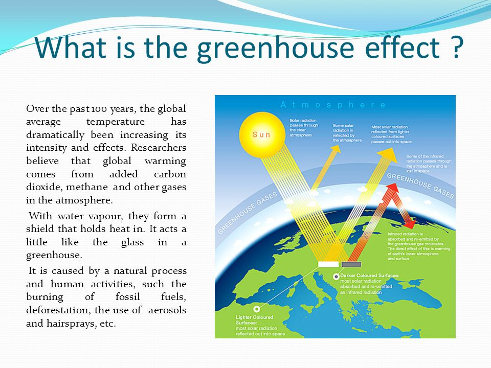 a report on the greenhouse effect Greenhouse effect topic report - free download as word doc (doc / docx), pdf file (pdf), text file (txt) or read online for free.