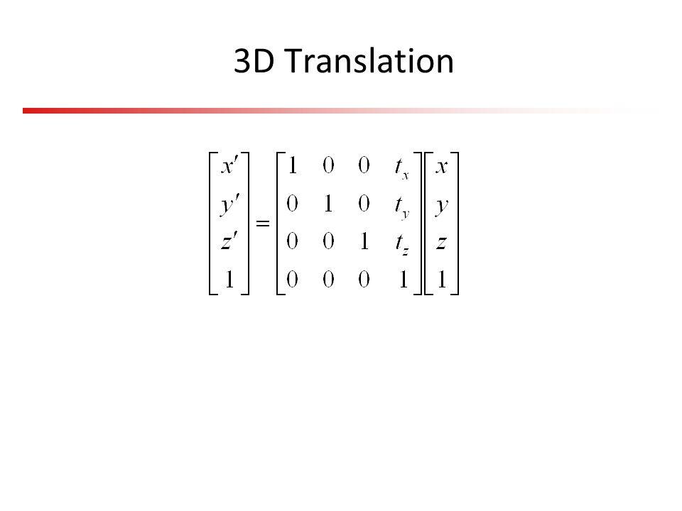 3D Translation