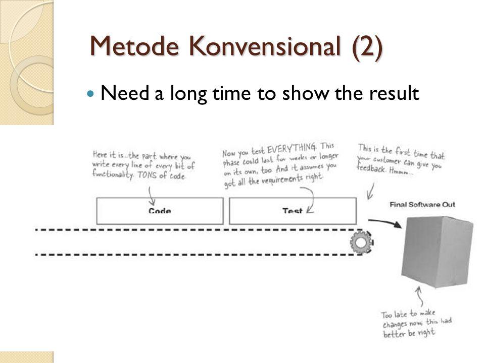 Metode Konvensional (2)