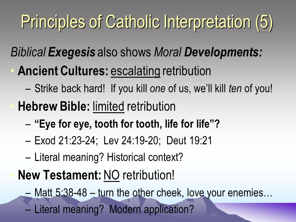 Guidelines for Interpreting Biblical Narrative