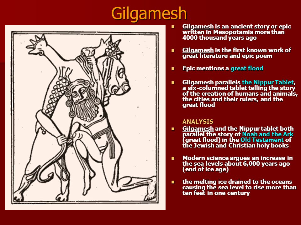 Epic of Gilgamesh: Summary in 10 interesting points