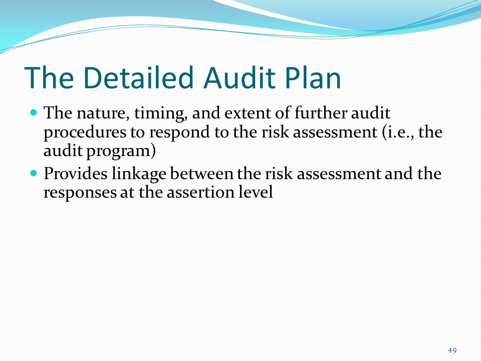 Understanding Audit Risk Assessment - Ppt Download